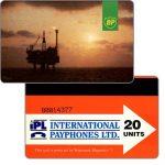 The Phonecard Shop: Great Britain, British Petroleum, 20 units