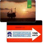 The Phonecard Shop: Great Britain, British Petroleum, 150 units