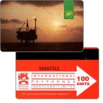 The Phonecard Shop: British Petroleum, 100 units