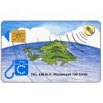 The Phonecard Shop: St.Maarten, Island and satellite, without inovatron logo, 120 units