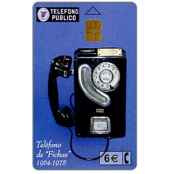 The Phonecard Shop: Telefono de Fichas 1964-1975, 6 €