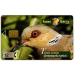 The Phonecard Shop: Fauna Iberica, Tortola comun (Streptopelia turtur), 12 €