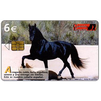 The Phonecard Shop: Caballo Espanol, 6€