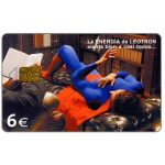 The Phonecard Shop: Spain, Leotron, 6€