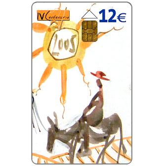 Phonecard for sale: IV Centenario Cervantes, 12€