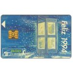 The Phonecard Shop: Feliz 1994, 800+200 pta