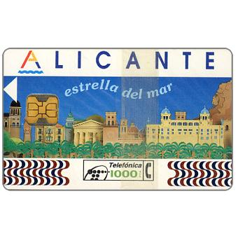 Phonecard for sale: Alicante, 1000 pta, chip