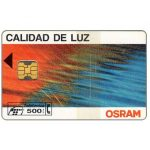 The Phonecard Shop: Spain, Osram, 500 pta