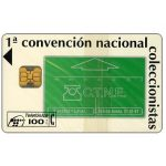 The Phonecard Shop: Spain, 1st convention of phonecards collectors, 100 pta