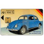 The Phonecard Shop: VW Kafer, 08/94, 100 pta