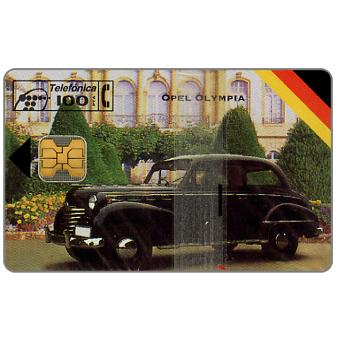 Phonecard for sale: Opel Olympia, 100 pta