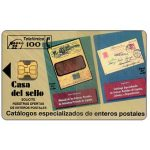 The Phonecard Shop: Casa del sello, 100pta