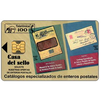 Phonecard for sale: Casa del sello, 100pta
