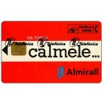 The Phonecard Shop: Spain, Calmele Almirall, 100 pta