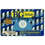 The Phonecard Shop: BG Telebank, 100 pta