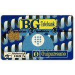 The Phonecard Shop: Spain, BG Telebank, 100 pta