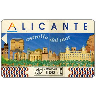 Phonecard for sale: Alicante, 100 pta