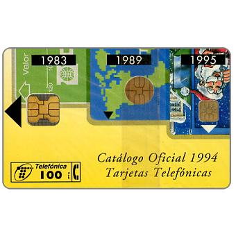 Phonecard for sale: Cabitel phonecards catalogue 1994, 100 pta