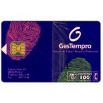 The Phonecard Shop: Gestempro, 100 pta