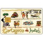 The Phonecard Shop: Spain, Cartagena de Indias, 100 pta