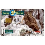 The Phonecard Shop: Fauna Iberica, Buho real (Bubo bubo), 2000+100 pta