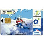 The Phonecard Shop: Sierra Nevada 1996 Ski championship, 1000 pta