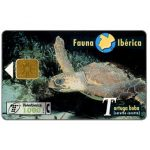 The Phonecard Shop: Fauna Iberica, Tortuga boba (Caretta caretta), 1000 pta