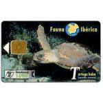 The Phonecard Shop: Spain, Fauna Iberica, Tortuga boba (Caretta caretta), 1000 pta