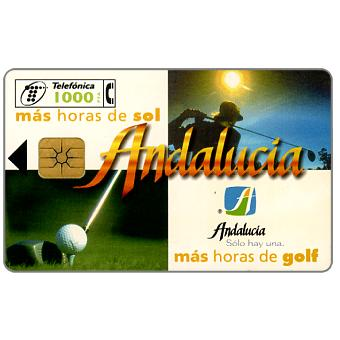 Phonecard for sale: Andalucia, Ryder Cup '97, 1000 pta