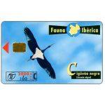 The Phonecard Shop: Spain, Fauna Iberica, Ciguena negra (Ciconia nigra), 2000+100 pta