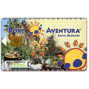 Phonecard for sale: Port Aventura, 1000 pta