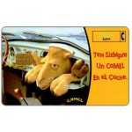 The Phonecard Shop: Spain, Camel cigarettes, 1000 pta