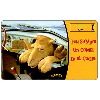 Phonecard for sale: Camel cigarettes, 1000 pta