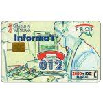 The Phonecard Shop: Spain, Informa't, 2000+100 pta