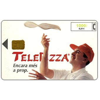 Phonecard for sale: Telepizza, 1000 pta