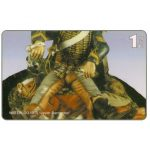 The Phonecard Shop: Spain, RSL COM - SIT2000, Waterloo metal soldiers, puzzle 2/2, 1 min.