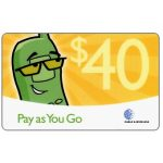The Phonecard Shop: Pay as you go, $40