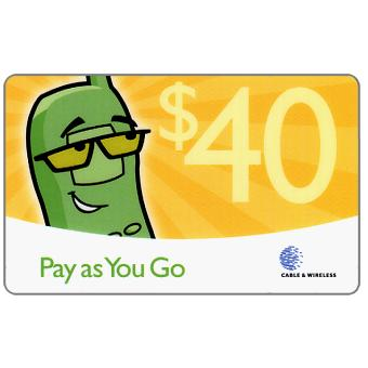 Phonecard for sale: Pay as you go, $40