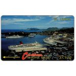 The Phonecard Shop: St.Lucia, Cruiseline, no logo, 3CSLB, EC$20