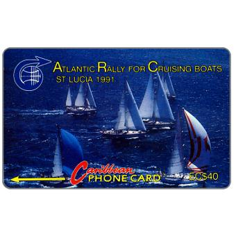 Phonecard for sale: Atlantic Rally for Cruising Boats, 4CSLA, EC$40