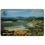 The Phonecard Shop: St.Lucia, Cruiseline, new logo, 9CSLB, EC$20