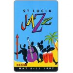 The Phonecard Shop: Jazz Festival 97, 147CSLF, EC$40
