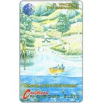 The Phonecard Shop: St.Vincent & The Grenadines, Decade of the Environment, large logo, 5CSVA, EC$10