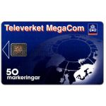 The Phonecard Shop: Telia - MegaCom, 50 units