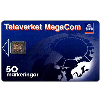 Phonecard for sale: Telia - MegaCom, 50 units