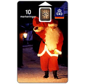 Phonecard for sale: Telia - Santa Claus, 10 units