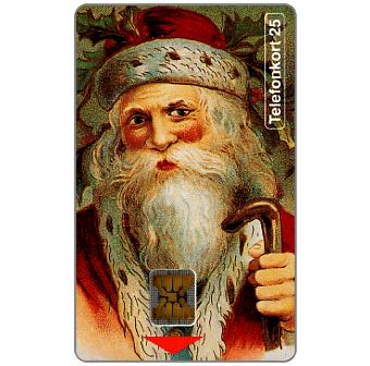 Phonecard for sale: Telia - Merry Christmas, Santa Claus, 25 units