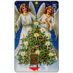 The Phonecard Shop: Telia -  Merry Christmas, Angels, 25 units
