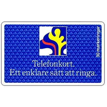 Phonecard for sale: Telia - Sparbankskort 1, 30 units