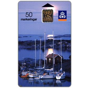 Phonecard for sale: Telia - Little harbour, 50 units